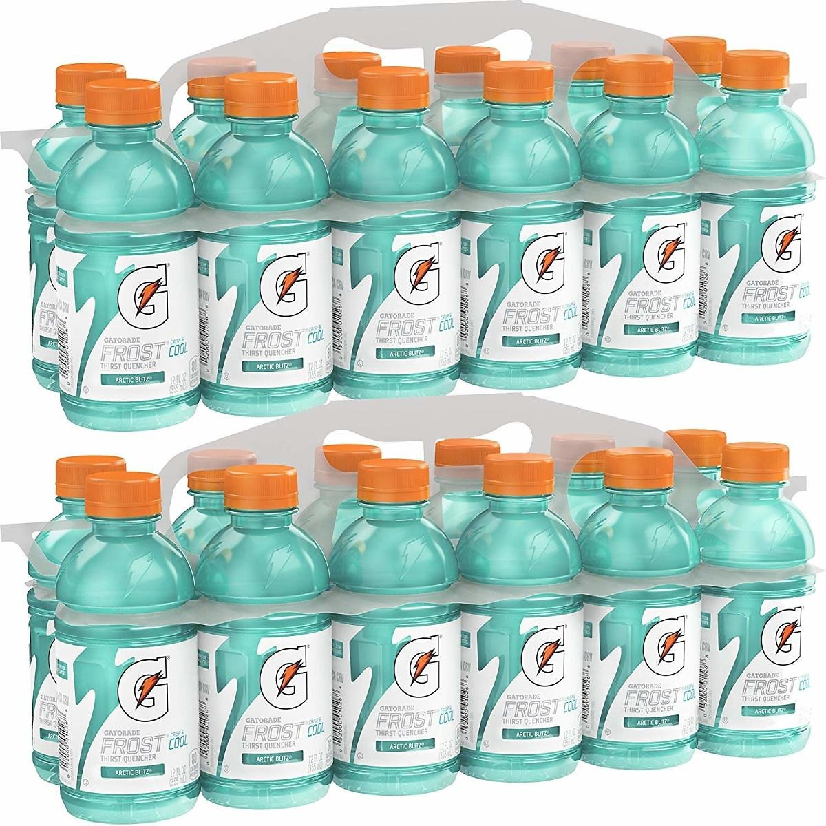 Gatorade Thirst Quencher, Fruit Punch and Cool Blue Variety Pack, 12 Ounce (Pack of 24) : Grocery & Gourmet Food