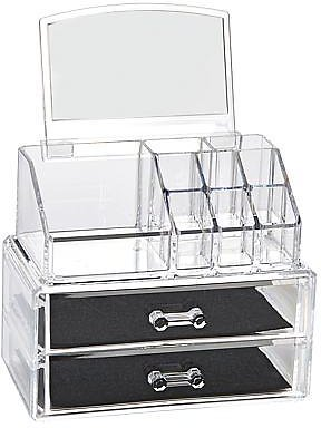 Beauty & Jewelry Organizer with Mirror and 2 Drawers - 9202934 | HSN