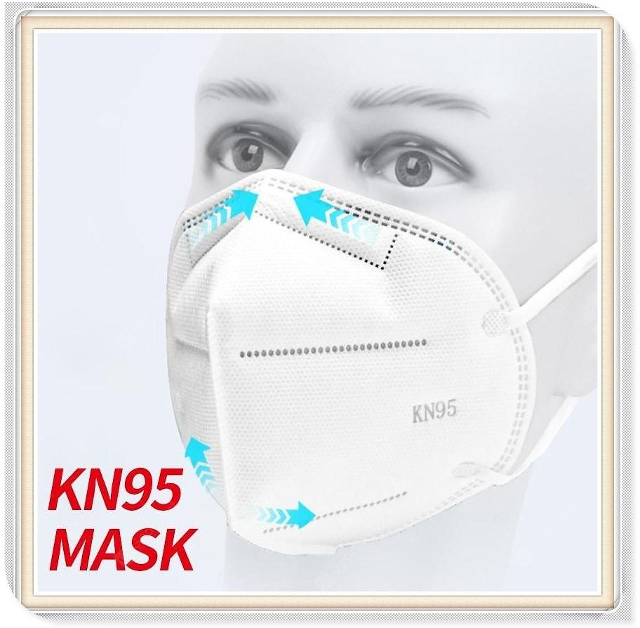30pcs KN95 Mask Face Protective Masks with CE FDA Extra Soft Elastic Ear Loop - United States