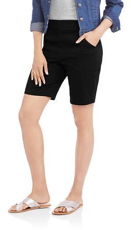 RealSize - RealSize Womens Pull On Stretch Shorts