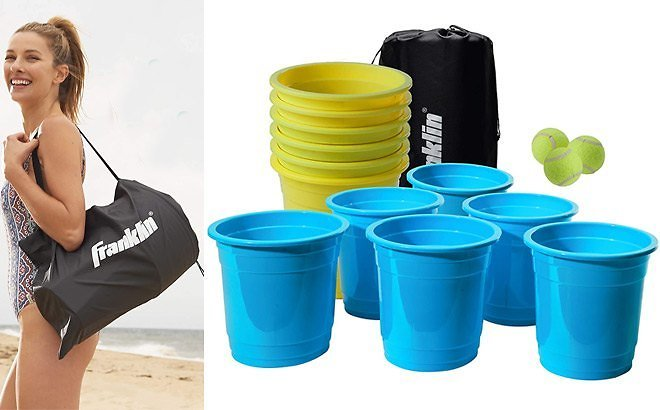 Franklin Sports Bucketz Pong Game Set for ONLY $35 + FREE Shipping (Regularly $59.99)