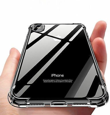 IPhone XR 6.1 Case Shock-Absorption Bumper Clear Cover 2018 Model For Apple 650270210847