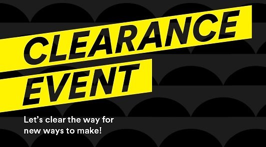 Up to 70% Off 1000s of Items 'Clearance Event'