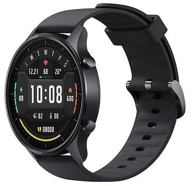 Xiaomi Mi Watch Color Smart Watch with 1.39 Inch AMOLED Screen 10 Sports Mode 14 Days Standby 5ATM Waterproof Chinese Version - Black