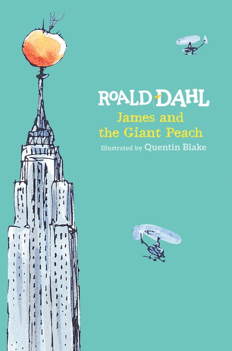 James and The Giant Peach By Roald Dahl (Hardcover)