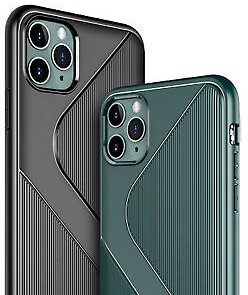 For IPhone 11/11 Pro/11 Pro Max Hybrid Case S-line Shockproof Protective Cover