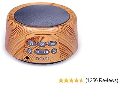 Douni Sleep Sound Machine - White Noise Machine with 24 Soothing Sounds for Sleeping & Relaxation, Timer & Memory Function