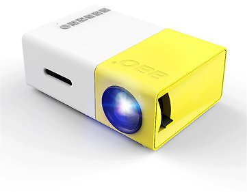 YG-300 LCD LED Projector 400-600 Lumens 320x240 800:1 Support 1080P Portable Office Home CinemaProjectors & AccessoriesfromComputers & Officeon Banggood.com