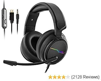 7% OFF Jeecoo Stereo Gaming Headset for PS4, Xbox One