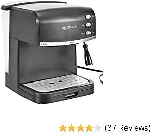 AmazonBasics Espresso Machine and Milk Frother