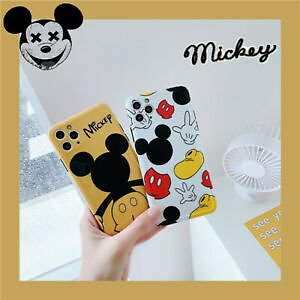 For IPhone 11 Pro XS MAX XR 7 8+ Cute Disney Cartoon Mickey Mouse Tpu Phone Case