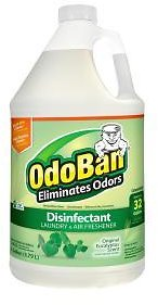 OdoBan 1 Gal. Eucalyptus Disinfectant, Laundry and Air Freshener, Mold and Mildew Control, Multi-Purpose Concentrate-911061-G