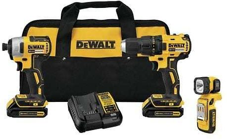 DEWALT 3-Tool 20-Volt Max Brushless Power Tool Combo Kit with Soft Case (Charger Included and 2-Batteries Included) Lowes.com