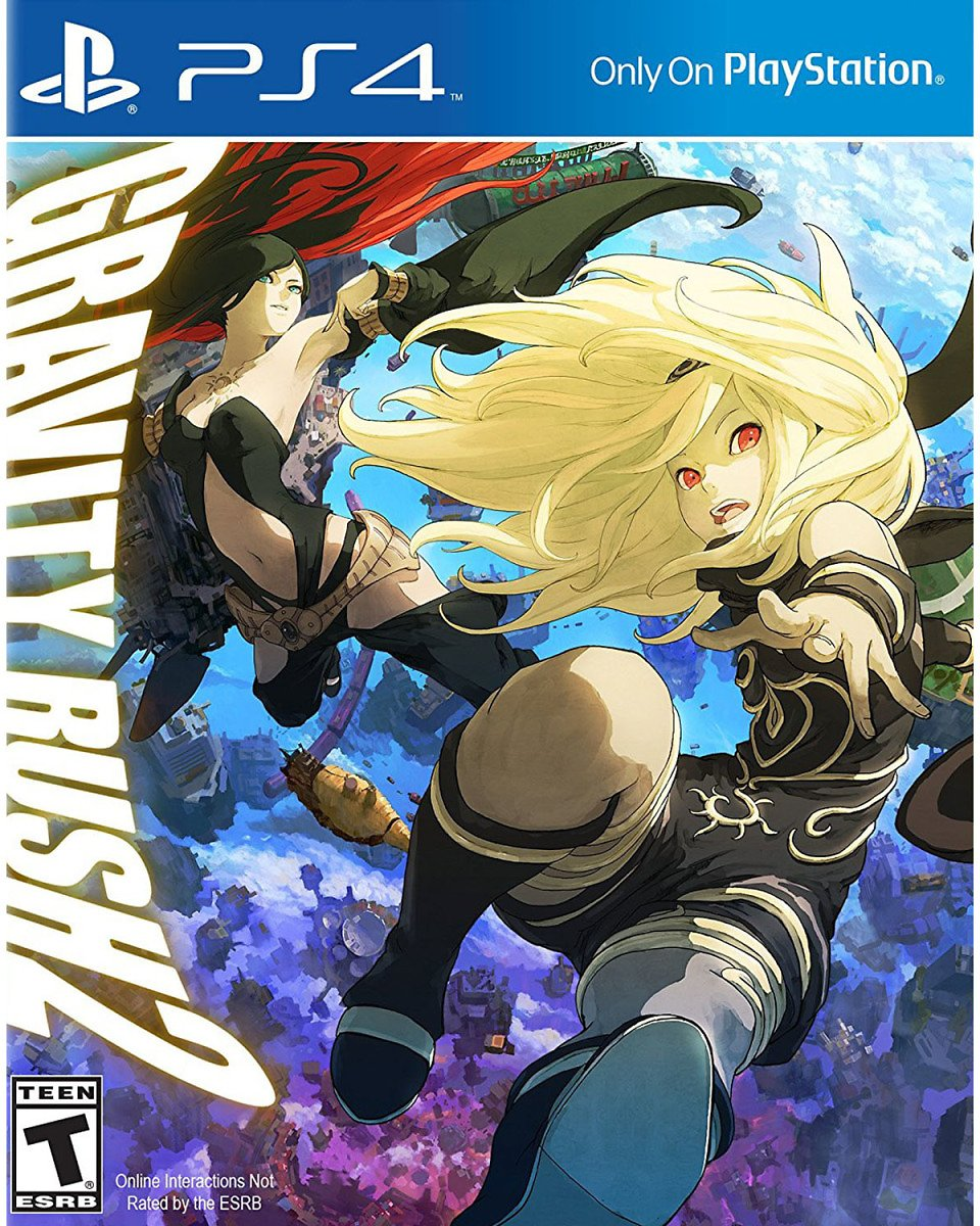 Gravity Rush 2, Sony, PlayStation 4, 711719506010