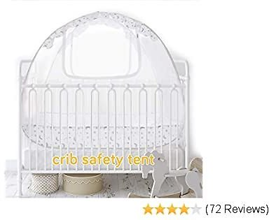 Baby Crib Canopy Safety Tent, Baby Crib Tent, Mesh Crib Cover, Baby Bed Tent, Baby Crib Net Pop Up