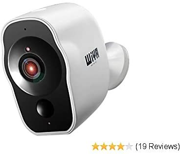 Outdoor Security Camera, 1080P WiFi Wireless Rechargeable Battery Powered Camera, Motion Detection, Activity Alert, Waterproof Night Vision Video Home Indoor Security Smart Camera System