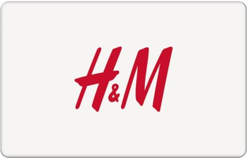 Save $10 On a $50 H&M Digital Gift Card