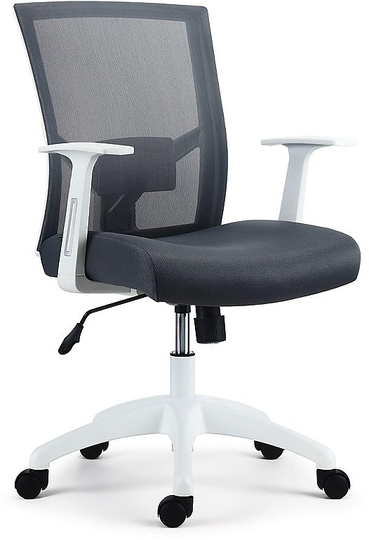 Ardfield Mesh Back Fabric Task Chair (2 Colors)