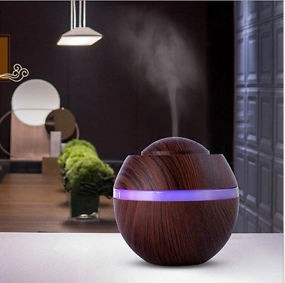 HOT! 500Ml Electric Oil Essential Burner Aroma Diffuser Humidifier Air Purifier