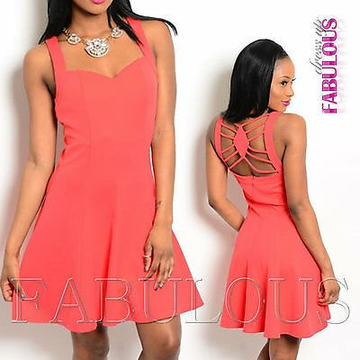 New Summer A-Line Mini Dress Hot Party Christmas Size 4 6 8 10 12 S M L