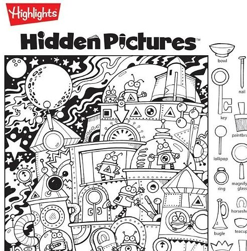 Free 14-Day Trial + Hidden Pictures Puzzles