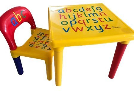 Table & Chair Kids Set Play Toddler Activity Fun Child Toy