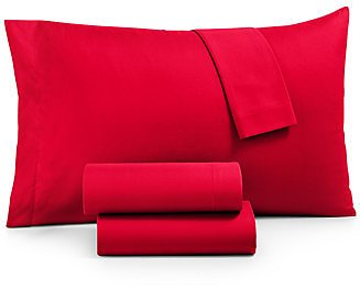 Jessica Sanders CLOSEOUT! Microfiber Queen 4-Pc Sheet Set, Created for Macy's & Reviews - Sheets & Pillowcases - Bed & Bath