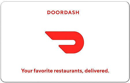 DoorDash $25 eGift Card (Email Delivery)