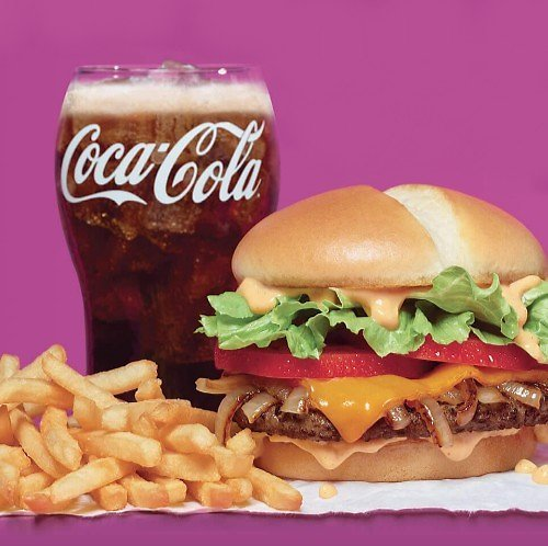 New! Southwest Cheddar Cheeseburger Combo
