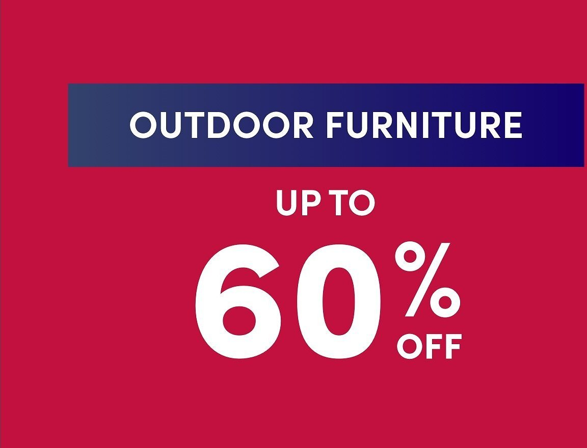 All Outdoor Furniture Clearance
