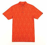 Oxford Alfred Paisley Print Performance Polo Shirt