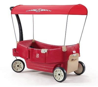 Step2 All Around Canopy Wagon - Red