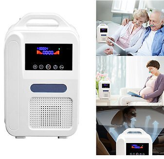 OZMUS Portable Oxygen Concentrator O2 Generators Air Purifier Ventilator Sleep MINI Oxygen Machine For HomeHome Entertainments & WorkfromHome Applianceson Banggood.com