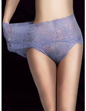 High Waisted Lace Cotton Crotch Panties Lingerie from Women's Clothing on Banggood.com