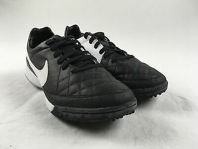 NEW Nike Tiempo Legacy TF - Black/White Cleats (Men's Multiple Sizes)