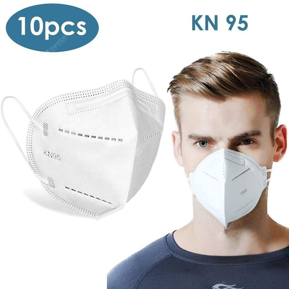10PCS KN95 N95 Face Mask Disposable Breathable Protective Non-Medical Masks-CHINA Sale, Price & Reviews | Gearbest
