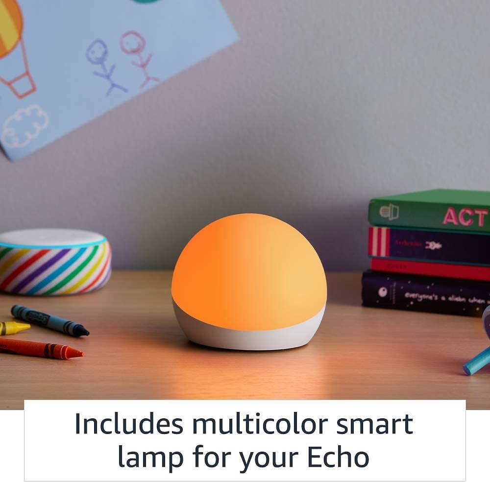 Echo Dot Kids Edition (Mult. Colors) With Echo Glow