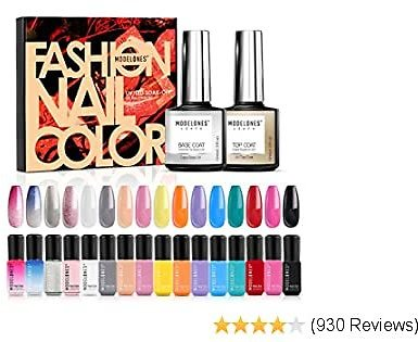 25% OFF Gel Nail Polish Set - 16 Bright Color Gel Nail Polish