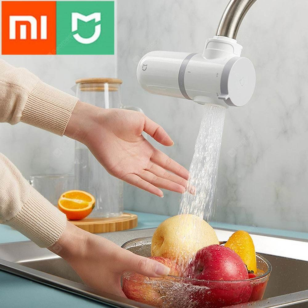 Xiaomi Mijia Faucet Water Purifier MUL11 Kitchen Tap Water Filter Rust Activated Carbon Percolator Bacteria Filter Sale, Price & Reviews   Gearbest