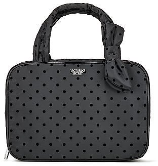 Victoria's Secret Velvet Dot Jetsetter Travel Case