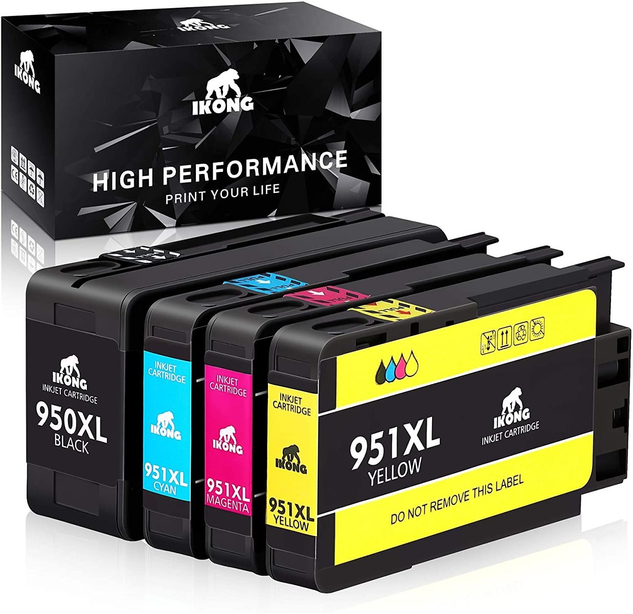 IKONG Compatible Ink Cartridge Replacement for HP