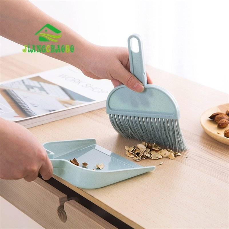 JiangChaoBo Mini Dustpan Sweep The Pan Of Plastic Pan Dustpan Household Small Broom Dust Shovel