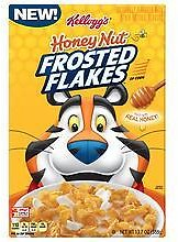 Frosted Flakes Cereal Honey Nut 13.7oz