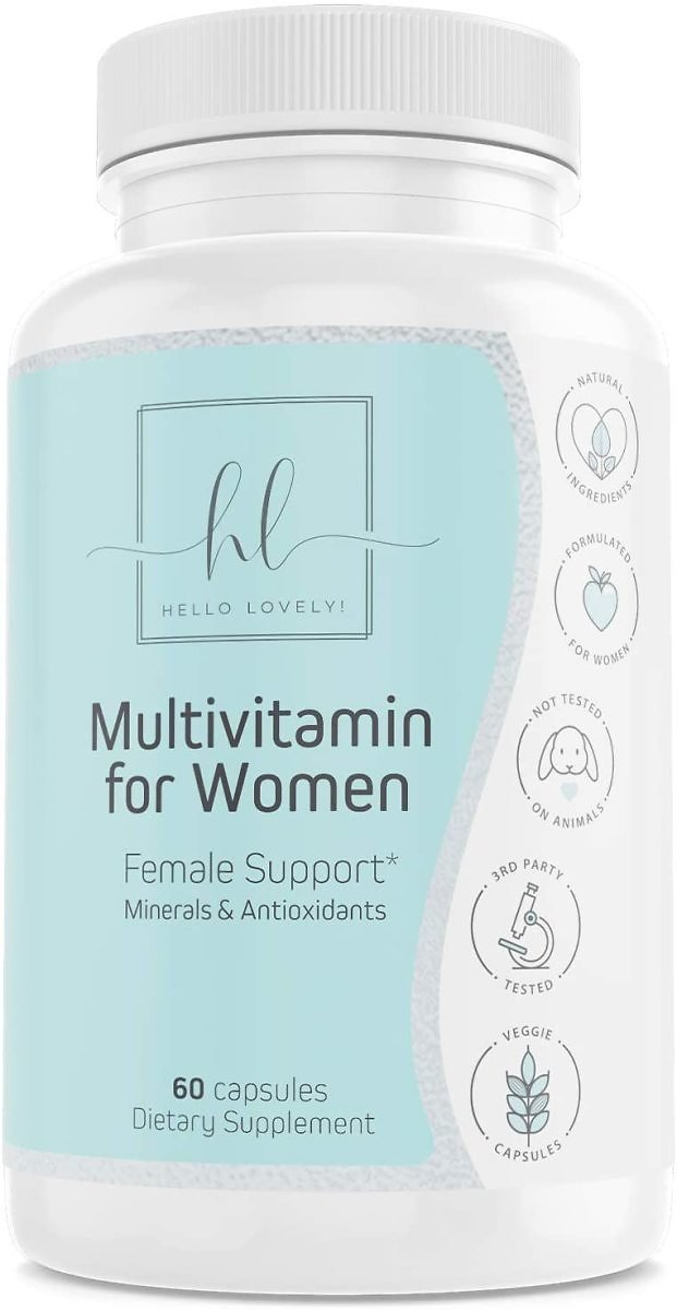 Multivitamin for Women Extra Strength Daily Vitamins with Biotin 1000mg