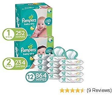 Pampers Baby Diapers and Wipes Starter Kit (2 Month Supply) Price Drop!