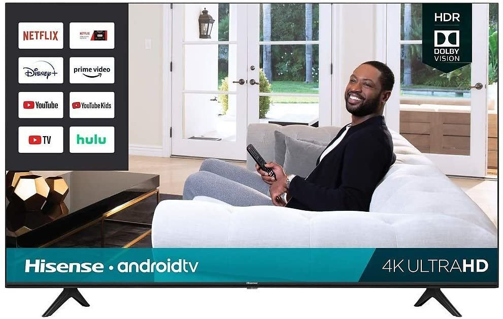 Hisense 50H6570G 50-Inch 4K Ultra HD Android Smart TV with Alexa Compatibility (2020)