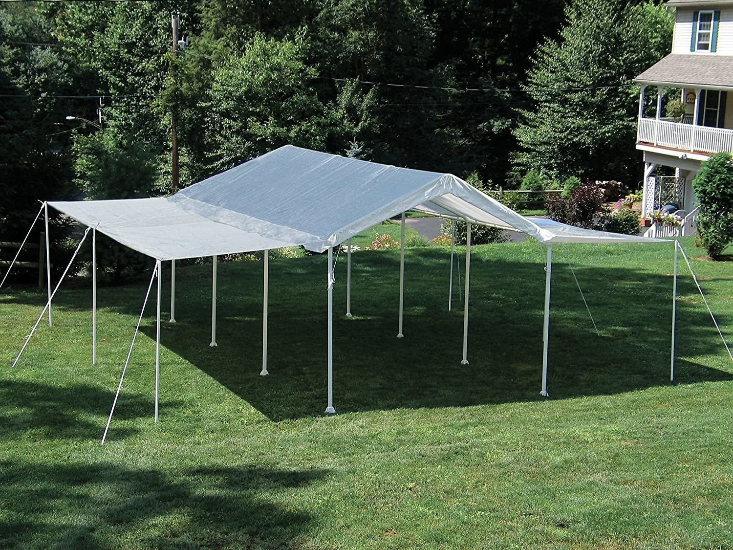 ShelterLogic MaxAP 2-in-1 Canopy with Enclosure Kit