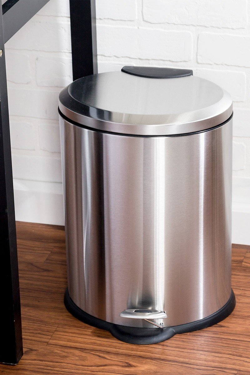 *31% OFF* Honey-Can-Do | Oval Stainless Steel Step Trash Can | Nordstrom Rack