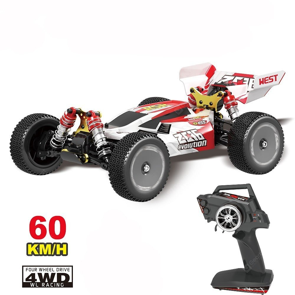 144001 RC Car 2.4Ghz 4WD High Speed Racing RC Vehicle Models Toys Gift Sale, Price & Reviews | Gearbest