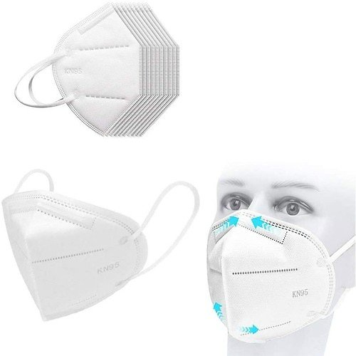 30pcs KN95 Dustproof Anti-fog And Breathable Face Masks Filtration Features As KF94 FFP2